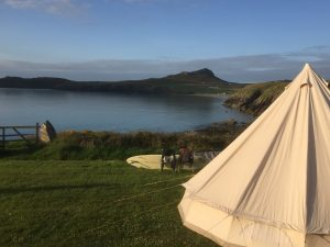 Bell-Tent Camping Pencarnan, Pembrokeshire