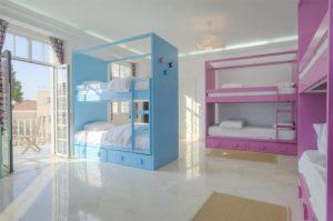 Dorm room boutique hostel