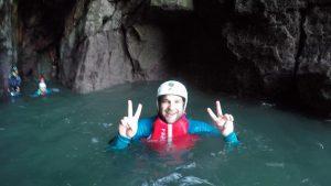 Exploring Caves, Wales