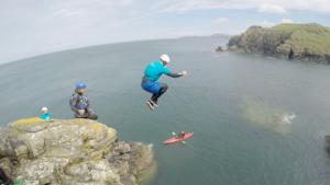 Coasteering Activity Pembrokeshire Wales