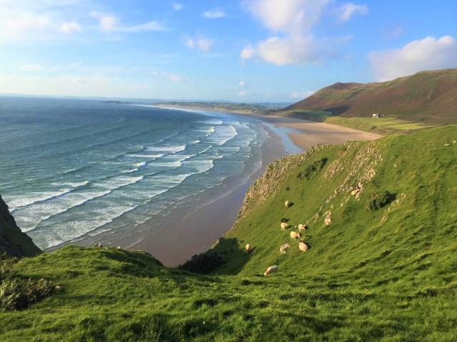 Explore Rhossili Bay, Wales