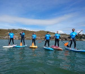Outdoor Team Building Activity Wales