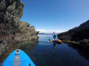 Paddleboarding Anglesey, Snowdonia
