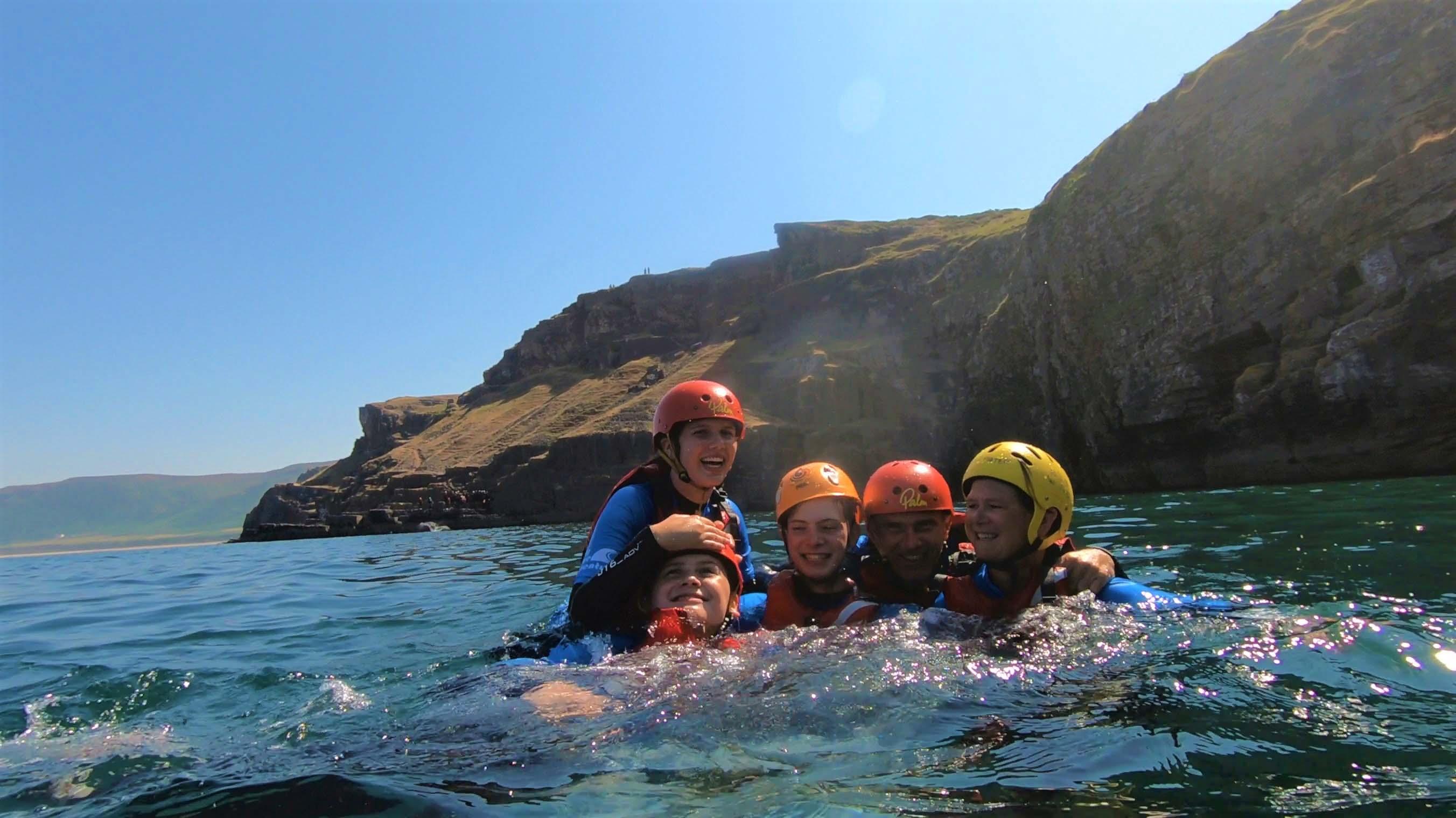 Coasteering Wales Family Activity
