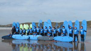 Surf lessons Pembrokeshire Wales