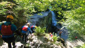 Canyoning Activity Wales