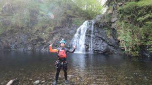 Canyoning Snowdonia Wales