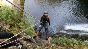 Canyoning Activity Snowdonia, Wales
