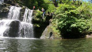 Canyoning Wales