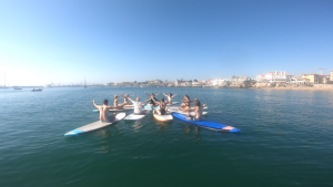 SUP Yoga Lisbon, Portugal