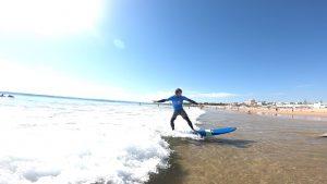 Surf lessons near Lisbon