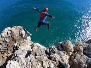 Coasteering Jump Algarve