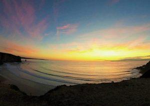 Sunset over Arrifina