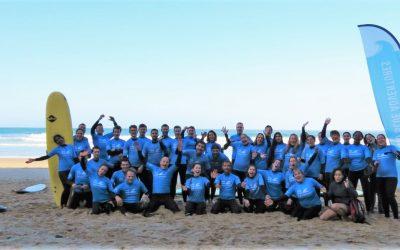 Surf Team Building Offsite in Algarve Portugal