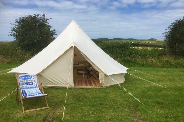 stag friendly campsite in St. Davids, Pembrokeshire