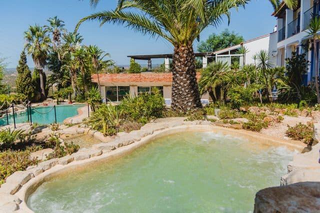 Villa Monte Doiro jacuzzi in Lagos Algarve