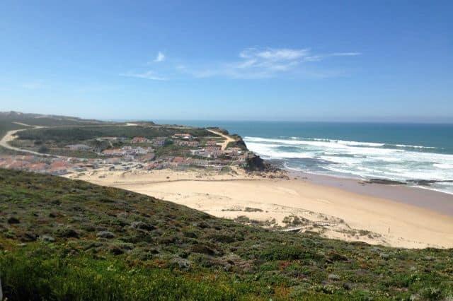 Monte Clerigo Beach in West Algarve
