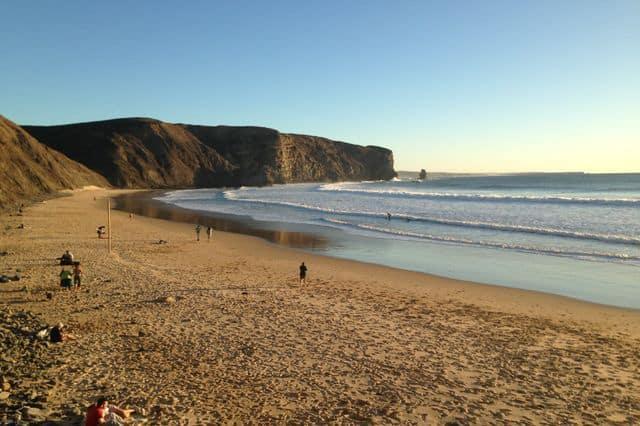 Praia da Arrifana surf beach in Algarve