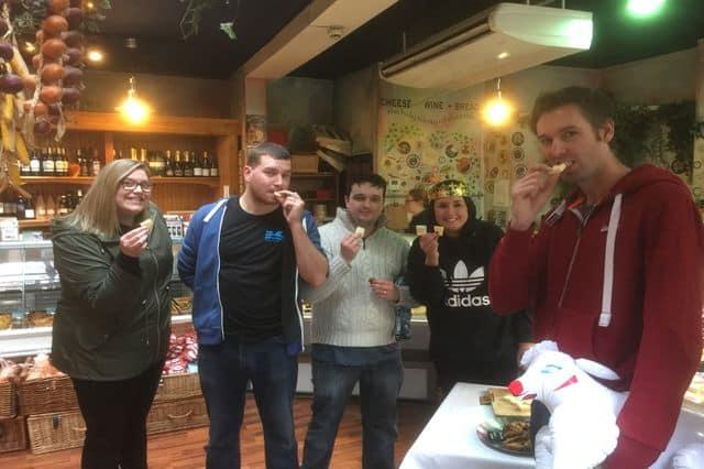 Team building treasure hunt in Cardiff