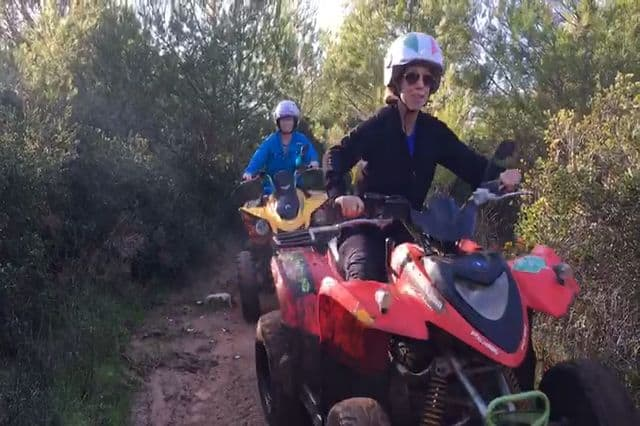 Quad biking tour in Cascais near Lisbon on a company retreat Portugal