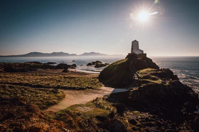 Ynys Llandwyn Lighthouse in Anglesey