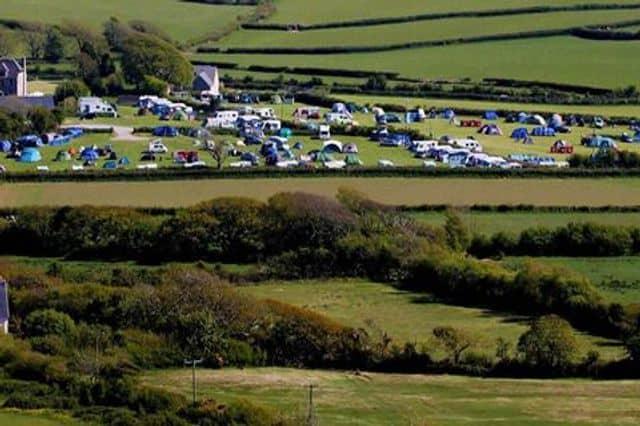 Campsite in Gower for team building getaways in Gower near Swansea